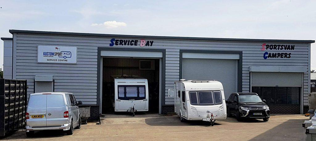 Servicing of Caravans | Motorhome Habitation Checks | Kustom Sport | Barnsley